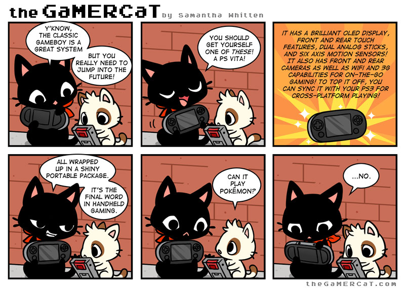 it only doesn t that the gamercat